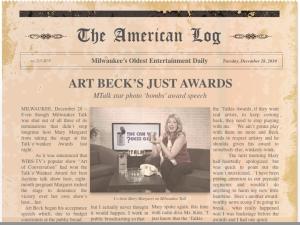 MTalk star photo 'bombs' award speech