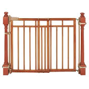 Baby gates needed at top of two-storey set?